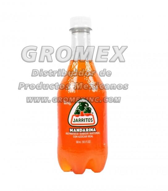 Jarritos Mandarina 24/16.9 oz