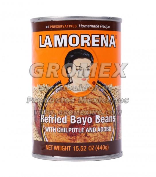 La Morena Refrito Bayo 12/15.52 oz