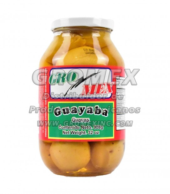 Gromex Almibar Guayaba 12/32 oz