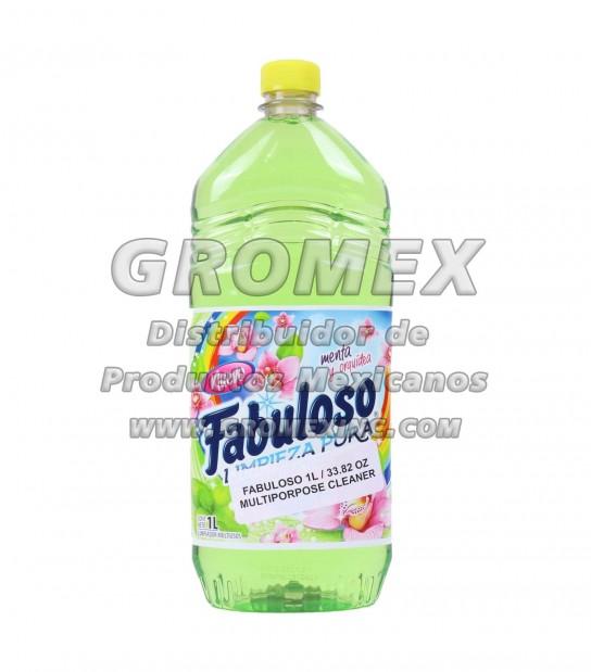 Fabuloso Menta/Orquidea 12/1 lt