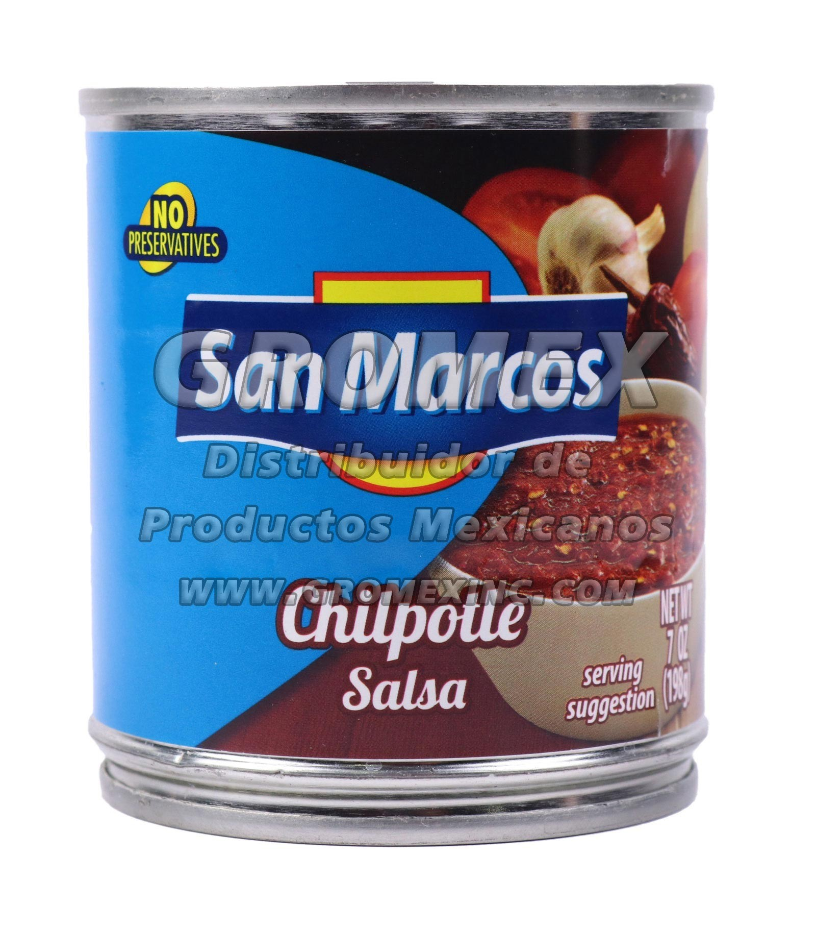 San Marcos Salsa Chipotle 24/7 oz - GROMEX