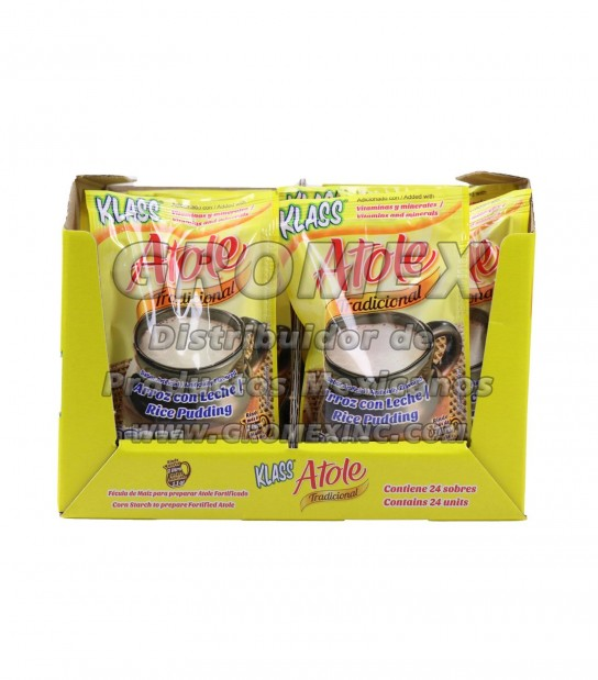 Klass Atole Arroz Con Leche 4/12 pc