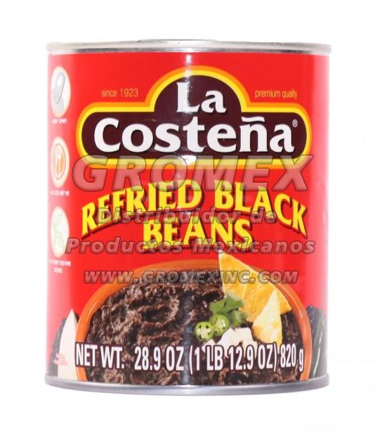 La Costeña Refrito Negro 12/28.9 oz