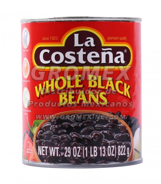 La Costeña Entero Negro 12/29 oz