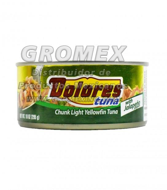 Dolores Atun Con Jalapeño 24/10 oz