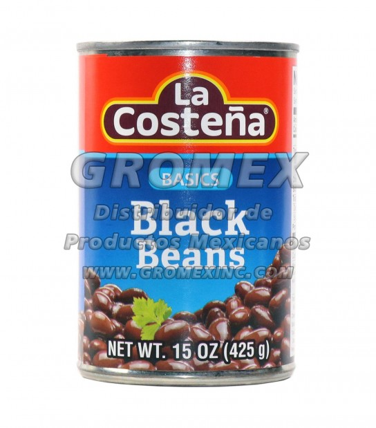 La Costeña Basic Negro 12/15 oz