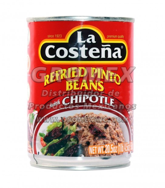 La Costeña Refrito Pinto Con Chipotle 12/20.5 oz