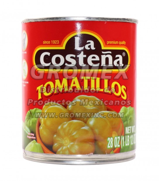 La Costeña Tomatillo 12/28 oz
