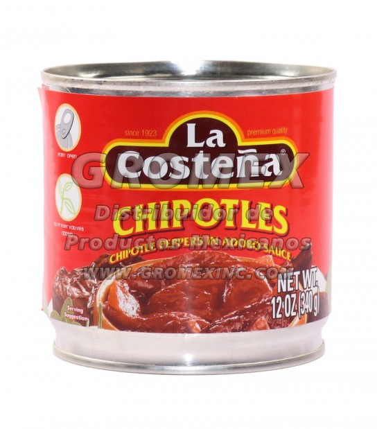 La Costeña Chipotle 12/12 oz