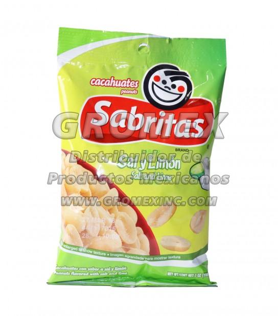 Sabritas Cacahuate Sallimon 127 Oz Gromex