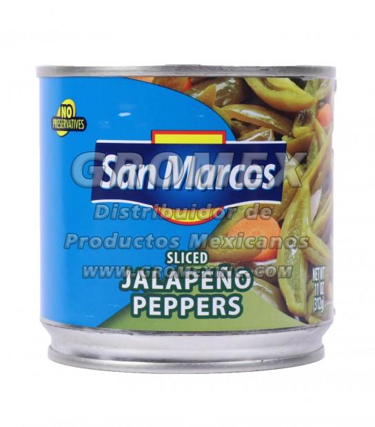 San Marcos Jalapeño Rajas 12/11 oz