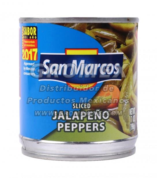 San Marcos Jalapeño Rajas 24/7 oz