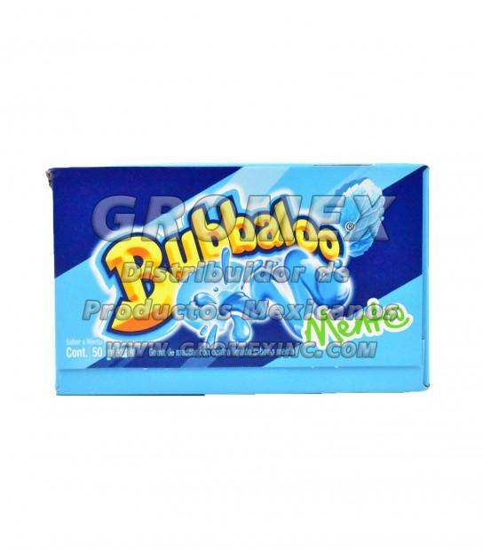 Bubbaloo Chicle Menta 32/50 pc