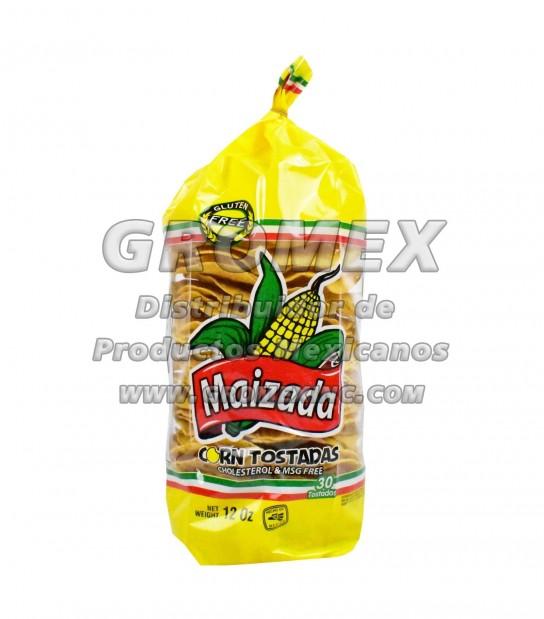 Maizada Tostada Natural 15/12 oz