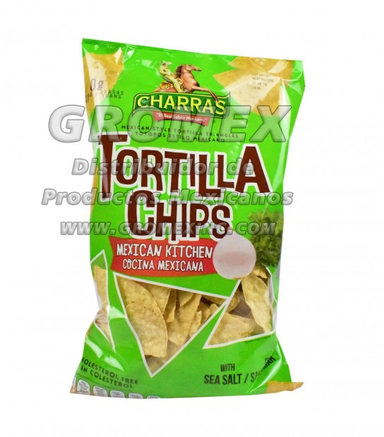 Charras Chips Mexican Style 8/12 oz