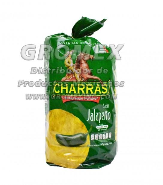 Charras Tostada Jalapeño 8/12.3 oz