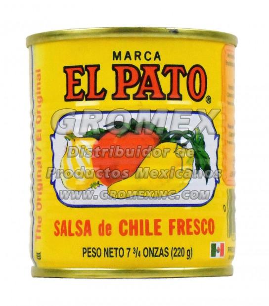El Pato Salsa Amarilla 48/7.76 oz