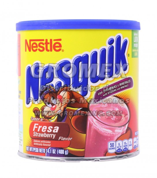 Nesquick Strawberry 12/14.1 oz