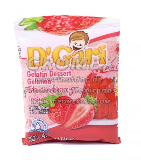 D'gari Agua Fresa 24/4.9 oz