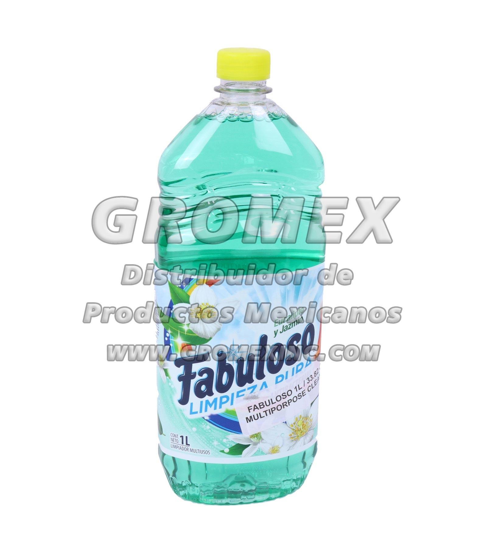 Fabuloso Eucalipto/Jazmin 12/1 lt - GROMEX