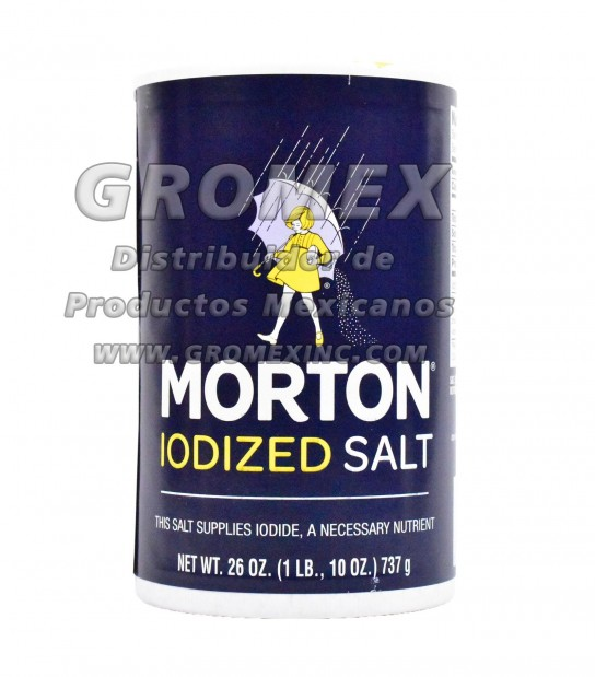 Morton Salt Iodized 24/26 oz
